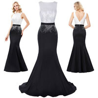 Long Formal Party Cocktail Evening Prom Wedding Gown Ball Maxi Celebrity Dresses