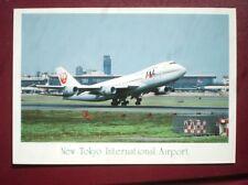POSTCARD NEW TOKYO INTERNATIONAL AIRPORT