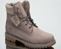 Timberland Women's 6 Inch Premium Waterproof Boots Lifestyle Shoes Grey A1KLW