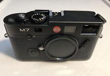 Leica M7 Ttl Body 0.72 35mm Rangefinder Film Camera Black Body Only
