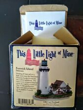 "Harbour Lights ""This Little Light of Mine"" Fenwick Island, De New In Box 2001"