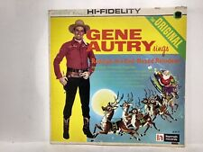 Gene Autry Sings Rudolph The Red-Nosed Reindeer  LP Record                 lp781
