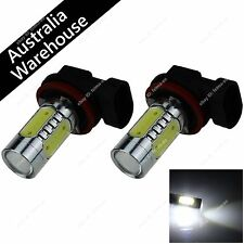 Pair White 5 COB LED 3.5W H11 PGJ192 Bulb Fog Light Parking High Beam Head Lamp