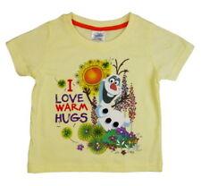 Abbigliamento gialli Disney per bambine dai 2 ai 16 anni Taglia 7-8 anni