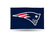 New England Patriots Authentic 3x5 Indoor/Outdoor Flag Banner NFL Hologram NWT