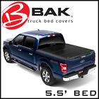 BAK BAKFlip FiberMax Hard Folding Tonneau Bed Cover Fits 15-20 Ford F-150 5.5'