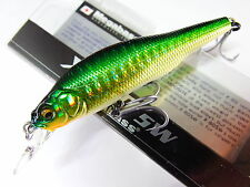 Megabass - X-80 SW 80mm 11g Sinking GG GOLDEN LIME