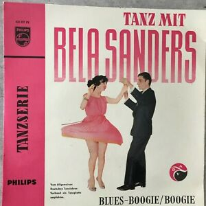 TANZ MIT BELA SANDERS: Blues-Boogie / Boogie (EP Philips 423 357 PE / Mono / NM)