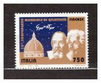 ITALIA MNH NUOVI 1993 Congresso Relativita 1v  Eistein  s17983