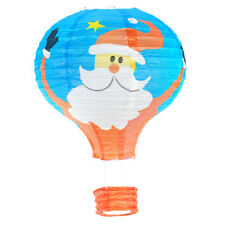 """12"""" Hot Air Balloon Paper Lantern Lampshade Ceiling Light XMAS Hanging Party 1X"""