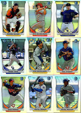 2014 Bowman Prospects Scout Top 5 Chrome Mini You Pick the Card Finish Your Set