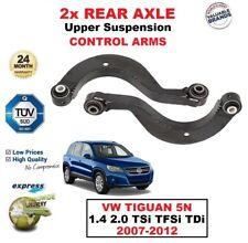 2x REAR AXLE Upper CONTROL ARMS for VW TIGUAN 5N 1.4 2.0 TSi TFSi TDi 2007-2012