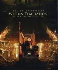 "WITHIN TEMPTATION ""BLACK SYMPHONY"" BLU RAY+DVD NEW+"