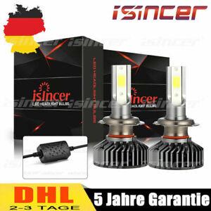 2er H7 320W Canbus LED Scheinwerfer Kit Hi- Lo Lampen DRL Birnen 6500K PK Xenon