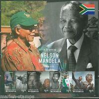 MICRONESIA 2014 IN MEMORIAM NELSON MANDELA SOUVENIR SHEET I  MINT NH