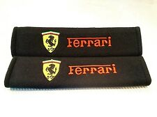 Seat Belt Shoulder Strap Pads for FERRARI Italia Berlinetta California LaFerrari
