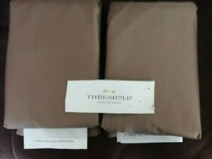 """SET of 2 Club Patio Chair Cover Brown - Threshold™ 34"""" NEW"""