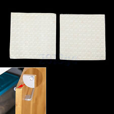 200Pcs ¢8mm×2.5mm Self-Adhesive Semicircle Rubber Feet Clear Bumpers Pad YG
