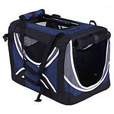 Cage tissu bleue T5 pour chien