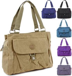 Ladies Large Travel Holdall Bag Womens Shoulder Hand Bags Tote Bag New
