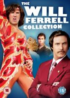 Nuovo Will Ferrell - Lame Di Glory / Old School / Anchorman DVD