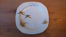 Vintage 1950s Alfred Meakin Salad Plate Flying Wild Ducks Wildfowl