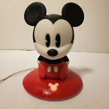 New listing Disney Mickey Mouse Phillips SoftPals Rechargable Night Light with Charger