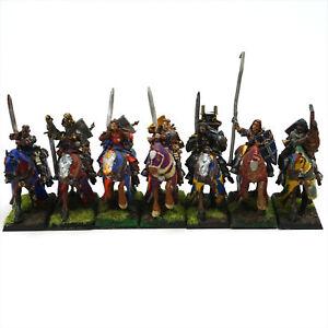 Warhammer Fantasy Bretonnia Questing Knights Unit - Pre-owned, Painted THG