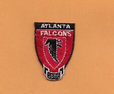 OLD ATLANTA FALCONS SHIELD LOGO PATCH UNUSED Unsold Stk