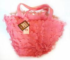 Juicy Couture Rosa JELLY Goma Flores De Verano Playa Bolsa-yhru 1094 - (VHB24)