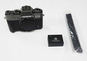 Fujifilm X-T30 Digital Camera Body - Charcoal Grey (REF450)