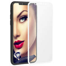 Cristal Templado Vidrio 3D para Apple iPhone X / 10 (A1901 / 5.8'') - blanco