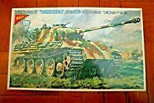 1:35 Nichimo PANZERKAMPFWAGEN V PANTHER-G GERMAN ARMY 5 HEAVY TANK
