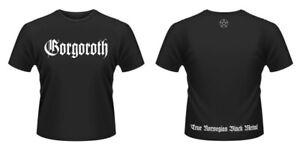 Gorgoroth - True Black Metal (NEW MENS T-SHIRT )