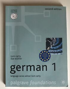 German Beginners Palgrave Foundations + 2 CDs