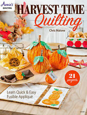 Learn Quick & Easy Fusible Applique with Harvest Time Quilting Annie's Attic NEW