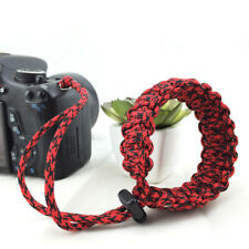 Paracord Camera Straps Hand Grips Braided Adjustable Wrist Bracelet Strap