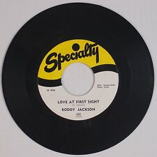 RODDY JACKSON: Love at First Sight / I've Got My Sights SPECIALTY 45 Rockabilly