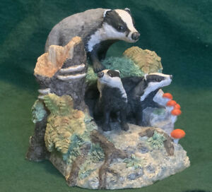 Border Fine Arts - Badgers