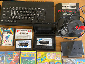 ZX Spectrum Plus + Sinclair games and extras - S01 serial No
