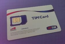 Scheda Sim Card TIM Top Number - Numero Facile 3 3 4 - 1 55 666 1