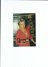 Autographe original de Jacqueline MAILLAN sur photo