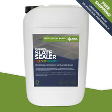 Stonecare4u Essential Slate Sealer COLOUR BOOST 25L size. Durable outdoor sealer