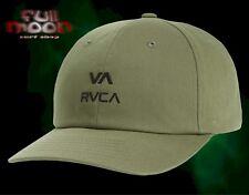 New RVCA Santiago Sport Cap Green Dad Mens Strapback Hat