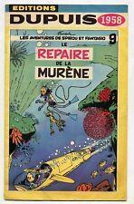 Dupuis catalogue 1958 Couverture de Franquin TBE
