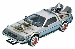 Back to The Future Part 3 Time Machine 1:24 Diecast Metal Welly Toy Car Kids AU