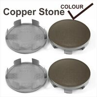 Wheel center caps centre alloy rim plastic 4x cap 60-58 mm Copper Stone Fits KIA