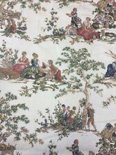 Kravet Guinevere toile de jouy coton imprimé tissu au mètre
