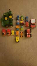 18 Vintage Piece Toy Vehicle Lot **lots of goodies**