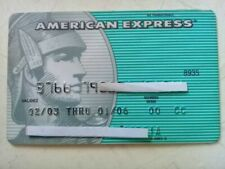 MEXICO CREDIT CARDS EXPIRED - AMERICAN EXPRESS . - FOR COLLECTION